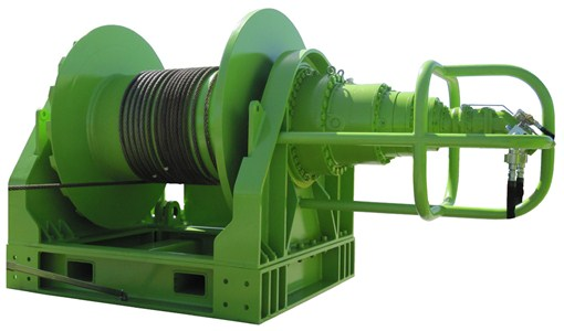 50Te Single Drum Hydraulic Winch