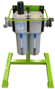 Filter, Regulator, Lubricator (FRL) Stand