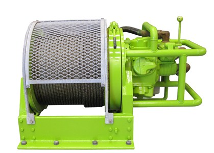 5Te Pneumatic Winch - BA5